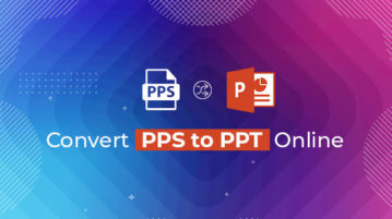 Convert PPS to PPT Online