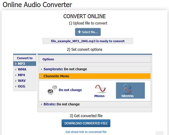 free mono to stereo converter