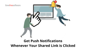 Get Push Notifications Whenever Someone Click Your Link