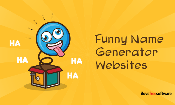 15 Free Funny Name Generator Websites with Various Themes