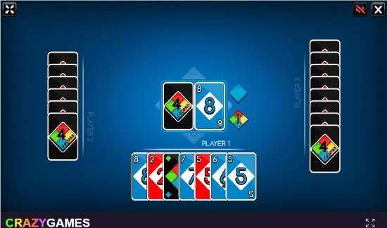 play UNO cards online