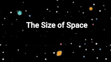 Interactive Visualization to Compare the Scale of the Universe