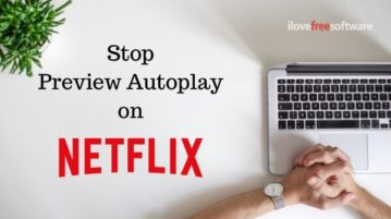 How to Stop Autoplay Previews in Netflix on Mouse Hover?