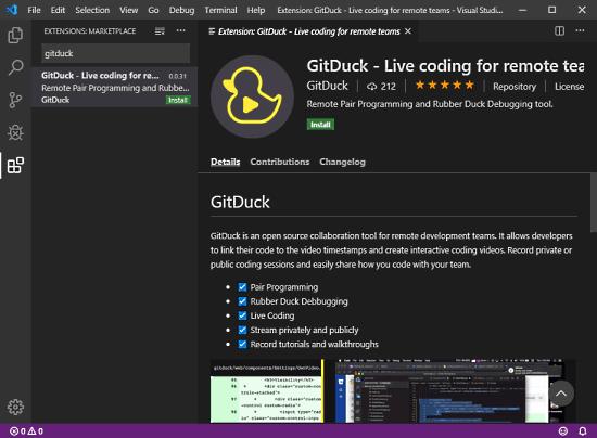 GitDuck for VS Code