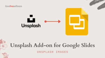 Unsplash Add-on for Google Slides to Insert Royalty-free Images in 1-Click