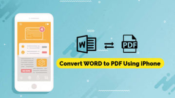 Convert WORD to PDF Using iPhone