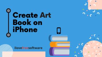 Create Art Book on iPhone