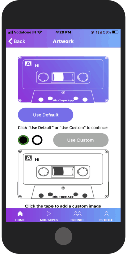 Create Custom Mixtape with Audio Recording