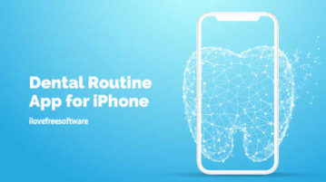 Dental Routine App for iPhone