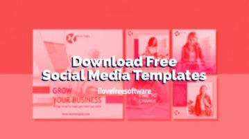 Download Free Social Media Templates