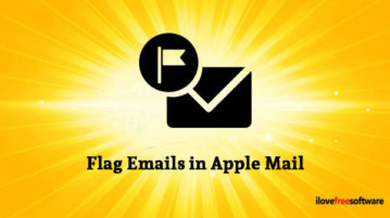 Flag Emails in Apple Mail