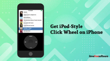Get iPod-Style Click Wheel on iPhone