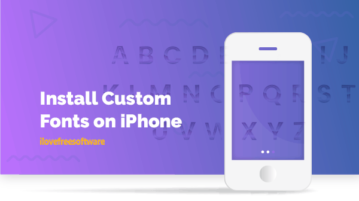 Install Custom Fonts on iPhone