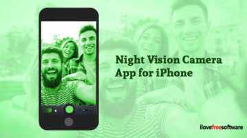Night Vision Camera App for iPhone