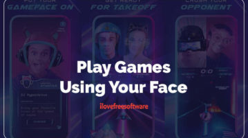 Play Games Using Your Face