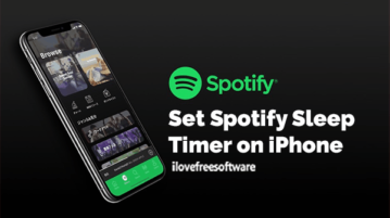 Set Spotify Sleep Timer on iPhone
