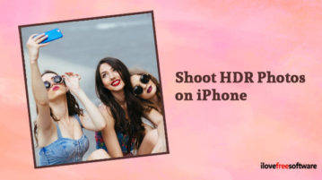 Shoot HDR Photos on iPhone