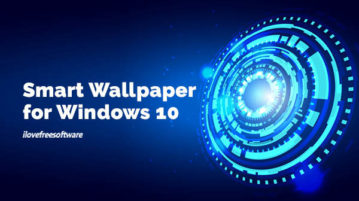 Smart Wallpaper for Windows 10