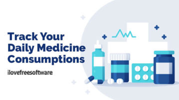 Track Your Daily Medicine Consumptions