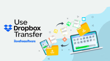 Use Dropbox Transfer