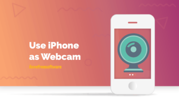 Use iPhone as Webcam