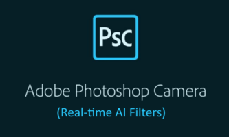 Free Adobe Photoshop Camera App with Real-time AI Filters