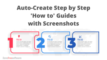 Free Chrome Extension to Auto Create How to Guides with Screenshots