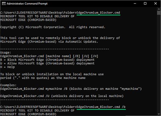 block chromium-based edge for windows updates