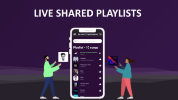Create Shared Playlist Online to Listen Songs Together with Others