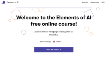 Finland AI Course Online to Learn Basics of AI