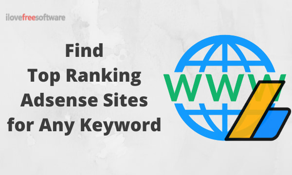 Find Top Ranking AdSense Sites For Any Keyword
