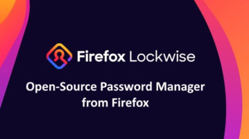 Firefox Lockwise: Free Open-Source Password Manager from Firefox