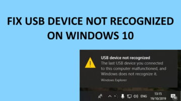 How to Fix USB Drive Not Showing Up in Windows File Explorer?
