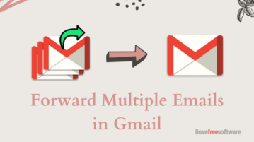 How to Send Multiple Emails as Attachments in Gmail?