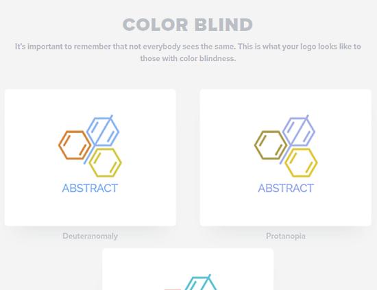 logo checker for color blind