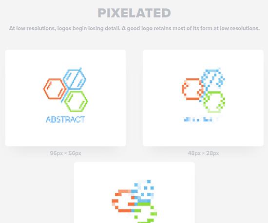 logo checker for pixelation