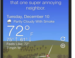 5 Best Free Funny Weather Apps for iPhone 2020