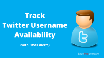 Get Email Alert When A Specific Twitter Username is Available