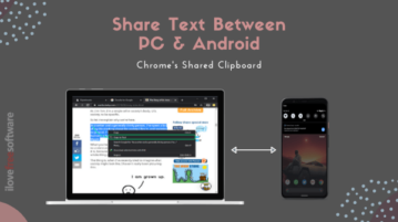 How to Share Text between PC and Android without using Any App?