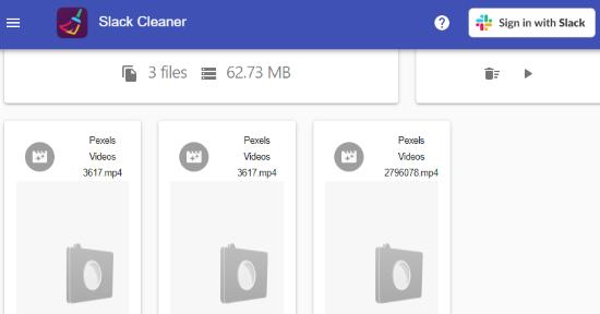 slack cleaner to delete files in bulk