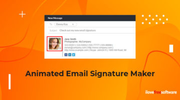 Animated Email Signature Maker
