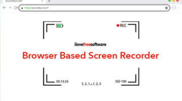 Browser Based Screen Recorder with Webcam and Mic