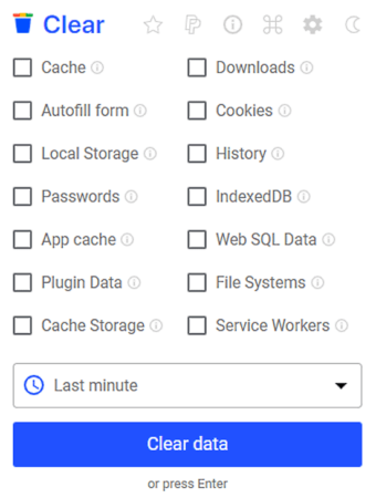 Delete Chrome Browsing History, Cache, Cookies, Downloads
