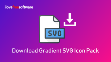 Download Gradient SVG Icon Pack