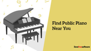 Find Public Piano Near You