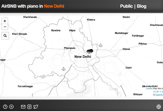 Find Public Piano Near You on This Worldwide Piano Map