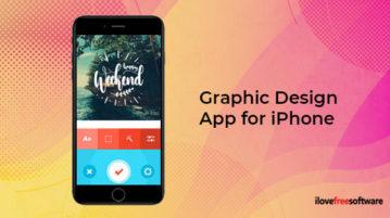 Graphic Design App for iPhone