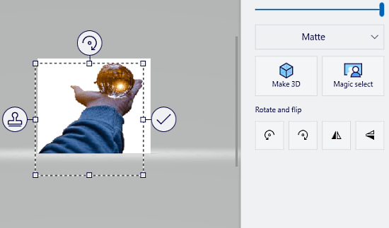 Remove Image Background using Paint 3D in Windows 10