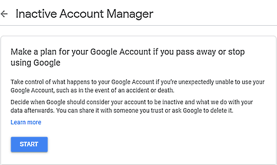 How to Schedule Your Google Account for Auto Delete When Not Used 2