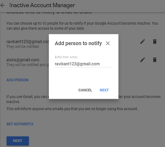 How to Schedule Your Google Account for Auto Delete When Not Used 4